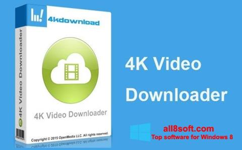 Posnetek zaslona 4K Video Downloader Windows 8