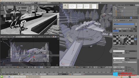 Posnetek zaslona Blender Windows 8