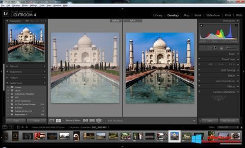 Posnetek zaslona Adobe Photoshop Lightroom Windows 8