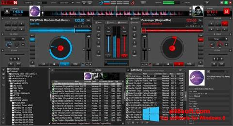 Posnetek zaslona Virtual DJ Windows 8