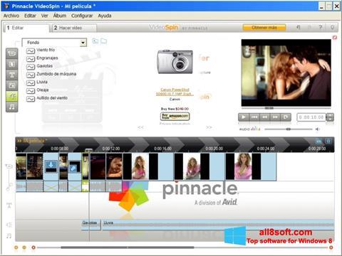 Posnetek zaslona Pinnacle VideoSpin Windows 8