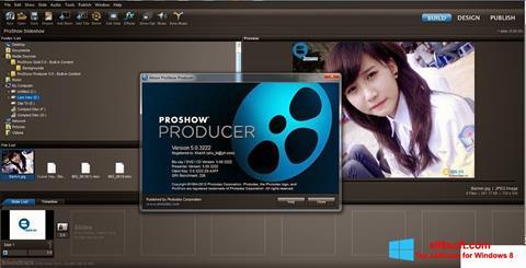 Posnetek zaslona ProShow Producer Windows 8