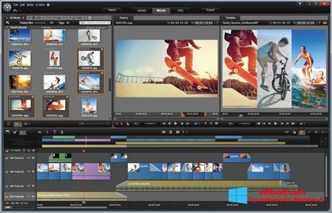 Posnetek zaslona Pinnacle Studio Windows 8