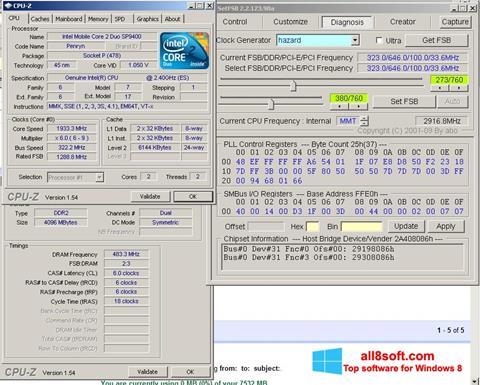 Posnetek zaslona SetFSB Windows 8