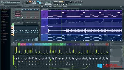 Posnetek zaslona FL Studio Windows 8
